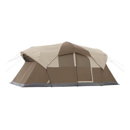 Coleman Weather Master 10 Person Hinged Door Tent - Tan