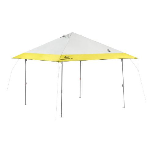 Coleman Instant Eaved Canopies 10x10 Fitness Equipment - White/Yellow