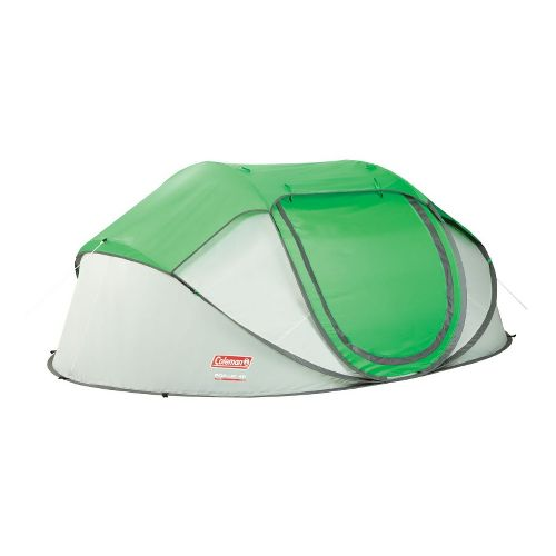 Coleman Popup 4 Tent Fitness Equipment - Green/White