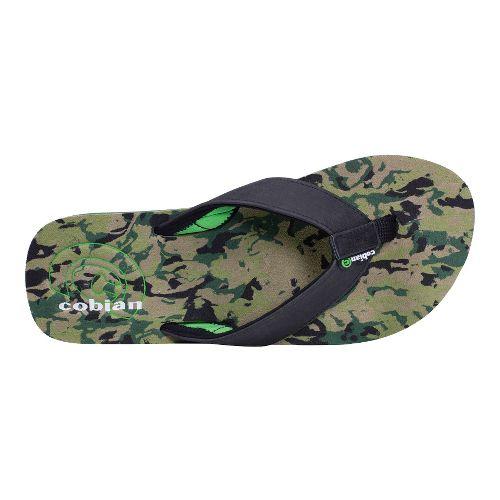 Mens Cobian Floater Sandals Shoe - Green 9
