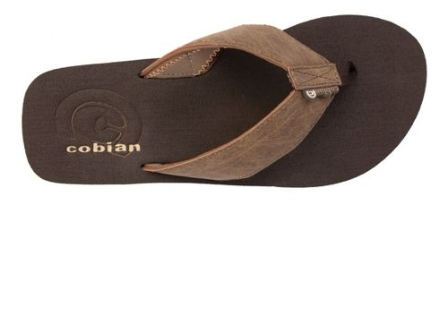 Mens Cobian Floater Sandals Shoe - Mocha 8