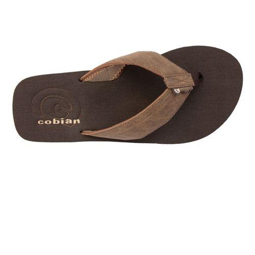 Mens Cobian Floater Sandals Shoe - Mocha 12
