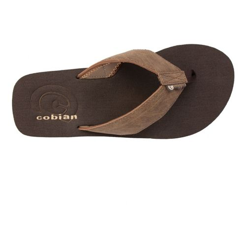 Mens Cobian Floater Sandals Shoe - Mocha 9