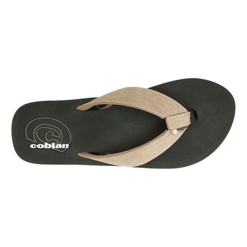 Mens Cobian Floater Sandals Shoe - Stone 8