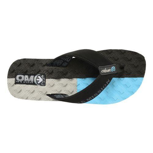 Mens Cobian OAM Traction Pad Sandals Shoe - Blue 10