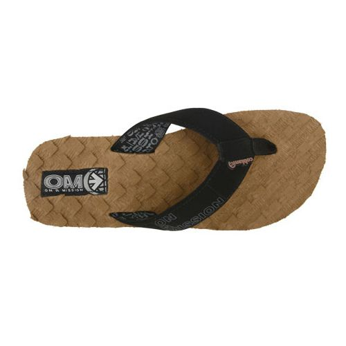 Mens Cobian OAM Traction Pad Sandals Shoe - Brown 11