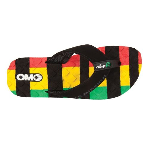 Mens Cobian OAM Traction Pad Sandals Shoe - Reggae 8
