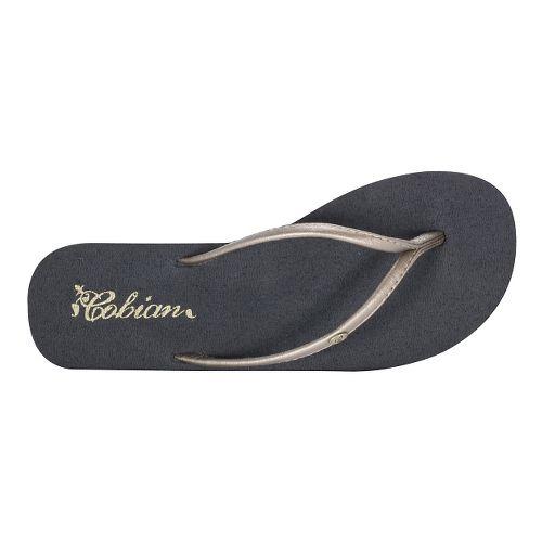 Womens Cobian Nias Bounce Sandals Shoe - Gold 7
