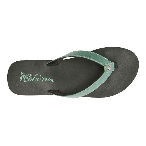 Womens Cobian Skinny Bounce Sandals Shoe - Emerald 8