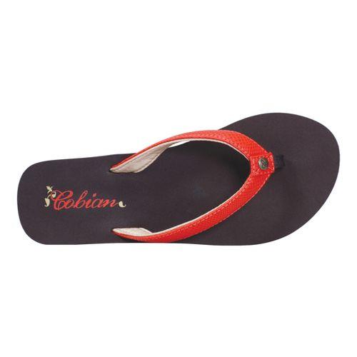 Womens Cobian Skinny Bounce Sandals Shoe - Orange 7