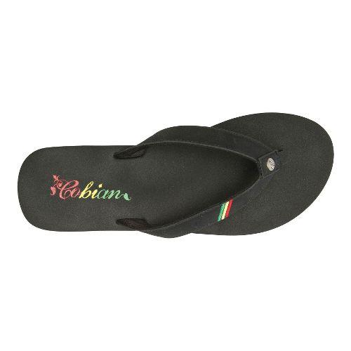 Womens Cobian Skinny Bounce Sandals Shoe - Reggae 6