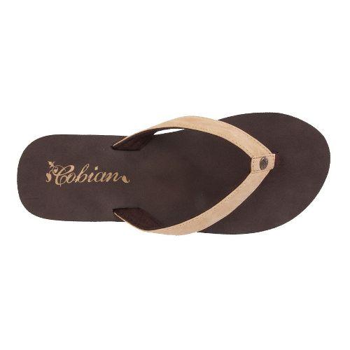 Womens Cobian Skinny Bounce Sandals Shoe - Tan 6