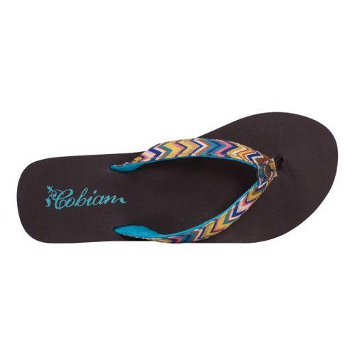 Womens Cobian Fiesta Skinny Bounce Sandals Shoe - Multi 8