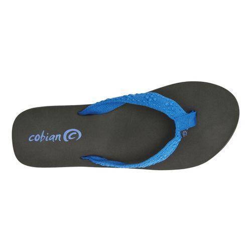 Womens Cobian Bounce Sandals Shoe - Blue 7
