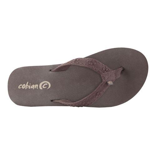 Womens Cobian Bounce Sandals Shoe - Chocolate 6