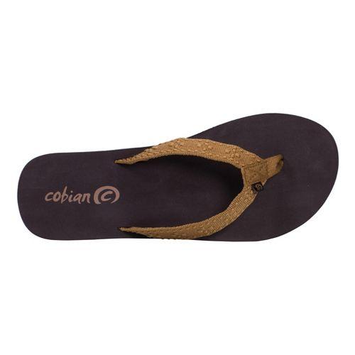 Womens Cobian Bounce Sandals Shoe - Caramel 6