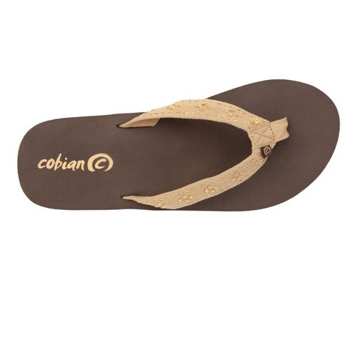 Womens Cobian Bounce Sandals Shoe - Gold 7