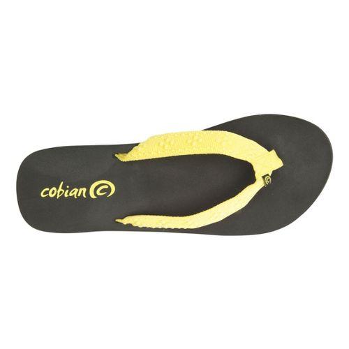 Womens Cobian Bounce Sandals Shoe - Yellow 10