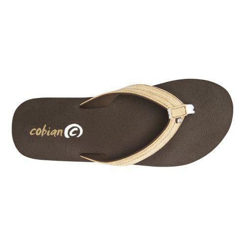 Womens Cobian Super Bounce Sandals Shoe - Chocolate 10