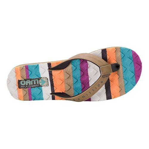 Womens Cobian Foam Sandals Shoe - Tan 9