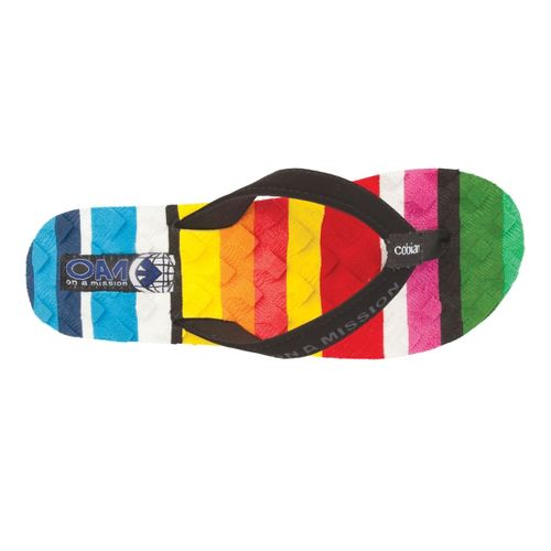 Womens Cobian Foam Sandals Shoe - Multi 6