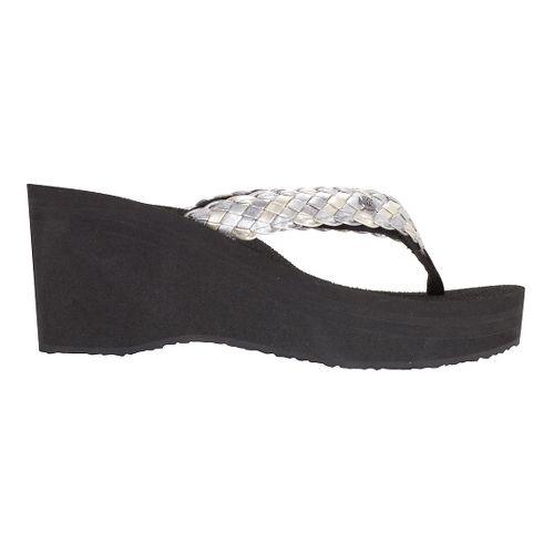 Womens Cobian Zoe Sandals Shoe - Silver 6