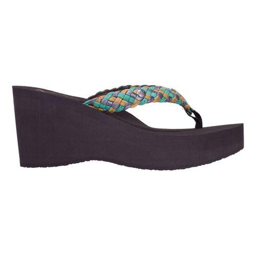 Womens Cobian Zoe Sandals Shoe - Teal 9