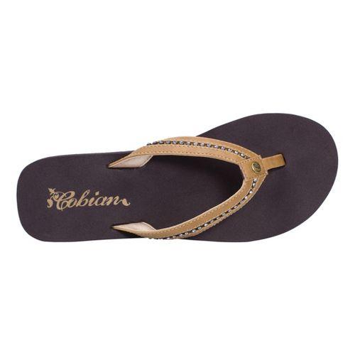 Womens Cobian Cartier Skinny Bounce Sandals Shoe - Tan 6
