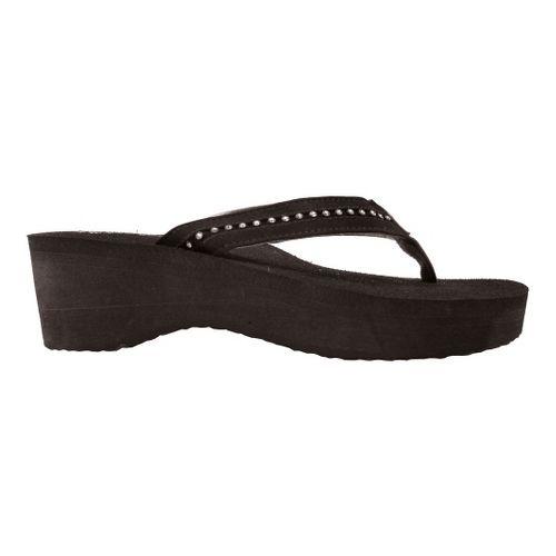 Womens Cobian Tiffany Sandals Shoe - Black 6