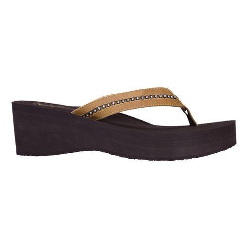 Womens Cobian Tiffany Sandals Shoe - Tan 7