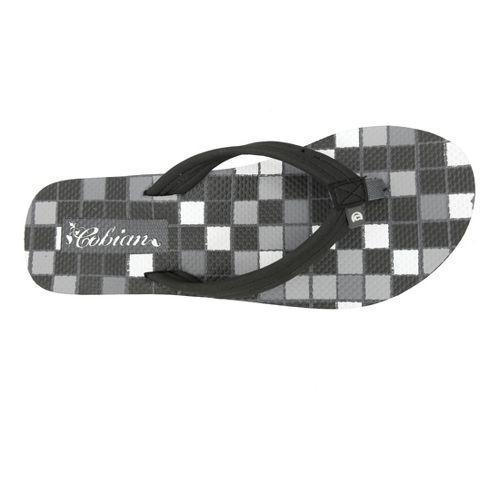 Womens Cobian Aqua Bounce Sandals Shoe - Black 6