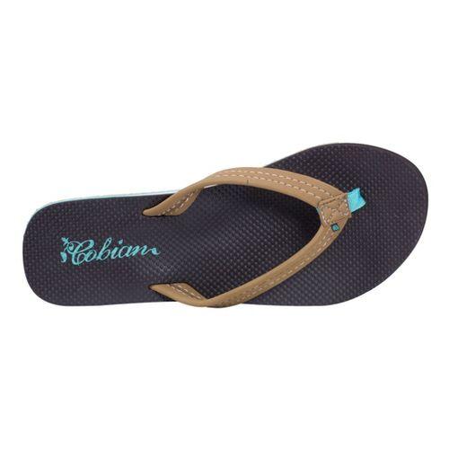 Womens Cobian Aqua Bounce Sandals Shoe - Tan 10