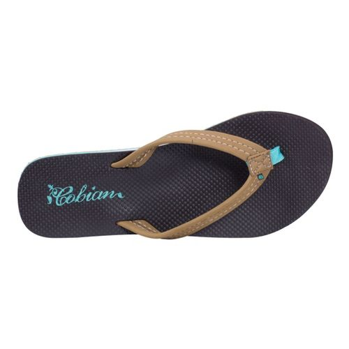 Womens Cobian Aqua Bounce Sandals Shoe - Tan 9