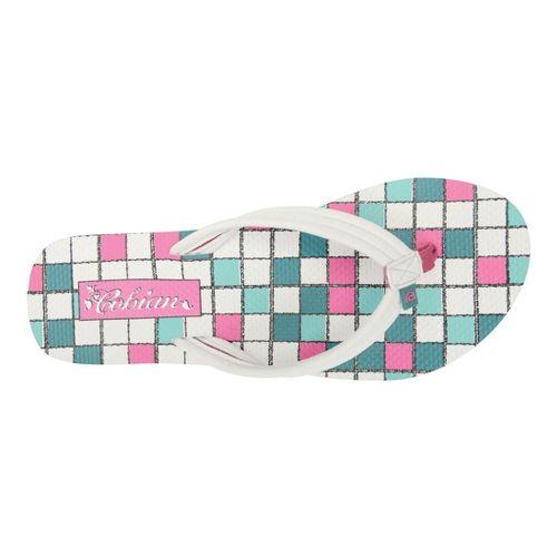 Womens Cobian Aqua Bounce Sandals Shoe - White 6
