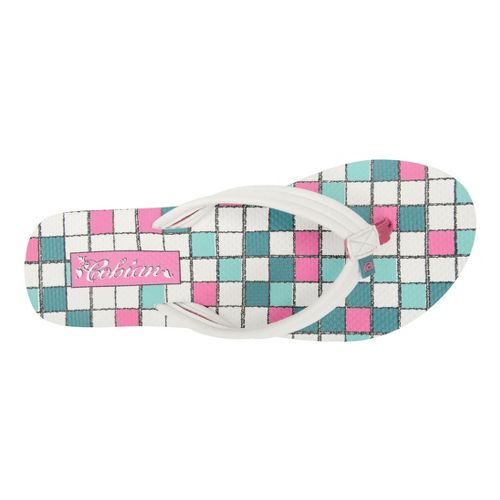 Womens Cobian Aqua Bounce Sandals Shoe - White 8