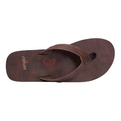 Mens Cobian Las Olas Sandals Shoe - Brown 10