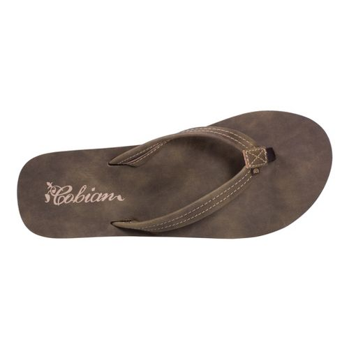 Womens Cobian Pacifica Sandals Shoe - Chocolate 9