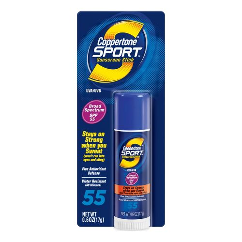 Coppertone Sport Stick SPF 55 .6 ounce Skin Care - null