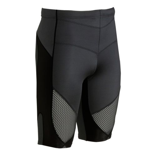 Womens CW-X Stabilyx Ventilator Fitted Shorts - Black L