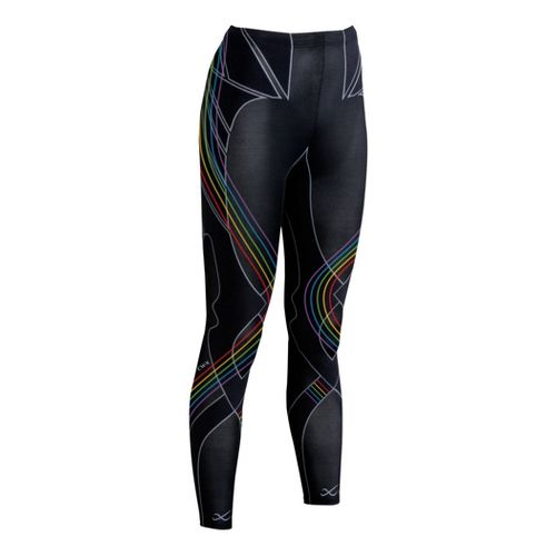 Womens CW-X Revolution Fitted Tights - Black Multi XS