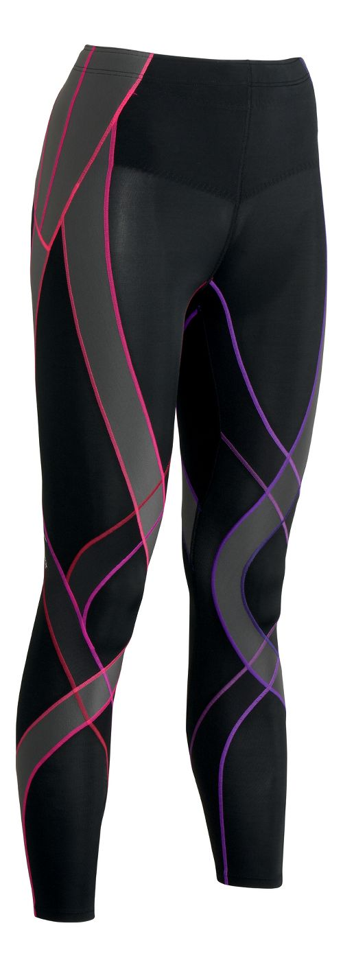 Womens CW-X Endurance Generator Fitted Tights - Black/Multi L