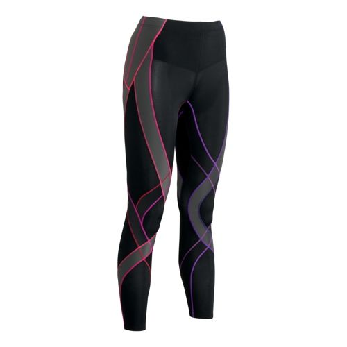 Womens CW-X Endurance Generator Fitted Tights - Black Multi XS