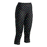 Womens CW-X 3/4 Length Stabilyx Print Capri Tights