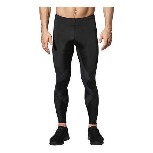 Mens CW-X Reflective Stabilyx Fitted Tights - Black L-T