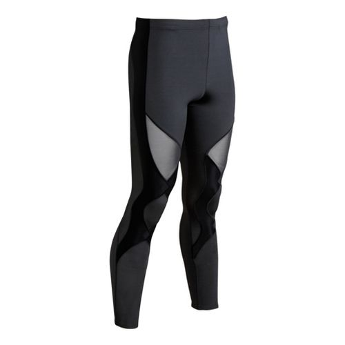 Mens CW-X Ventilator Fitted Tights - Black L