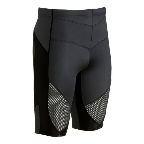 Mens CW-X Stabilyx Ventilator Fitted Shorts - Black L
