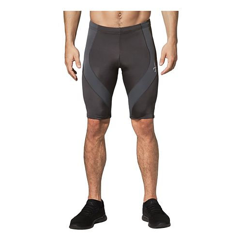 Mens CW-X Endurance Pro Compression & Fitted Shorts - Black L