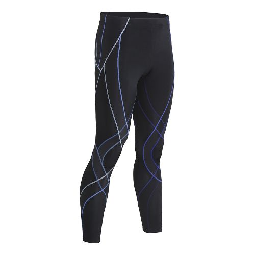 Mens CW-X Endurance Generator Fitted Tights - Black/Blue S