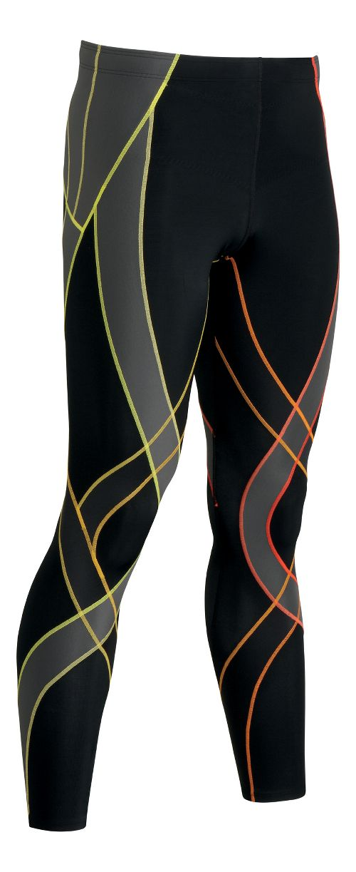 Mens CW-X Endurance Generator Fitted Tights - Black/Multi XL