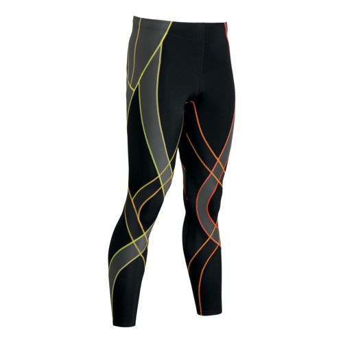 Mens CW-X Endurance Generator Fitted Tights - Black/Multi S